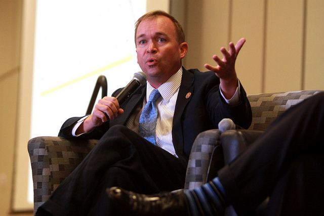 OMB Mulvaney, Contractors, and the federal budget