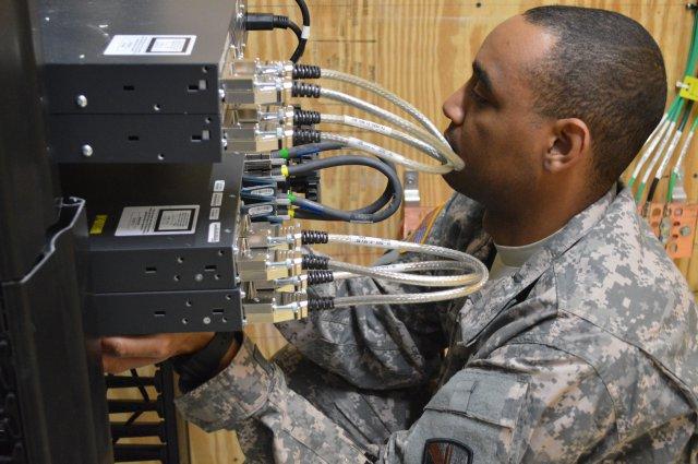 JRSS installation at Joint Base San Antonio (US Army)