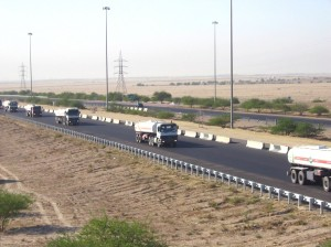 Fuel delivery in Iraq, a service included under LOGCAP. (Photo credit: US Army)